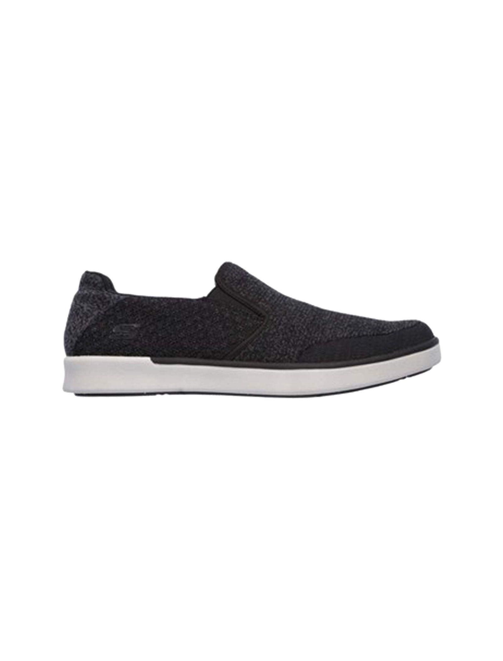 کفش راحتی پارچه ای مردانه Boyar Meber - اسکچرز - مشکي - 1