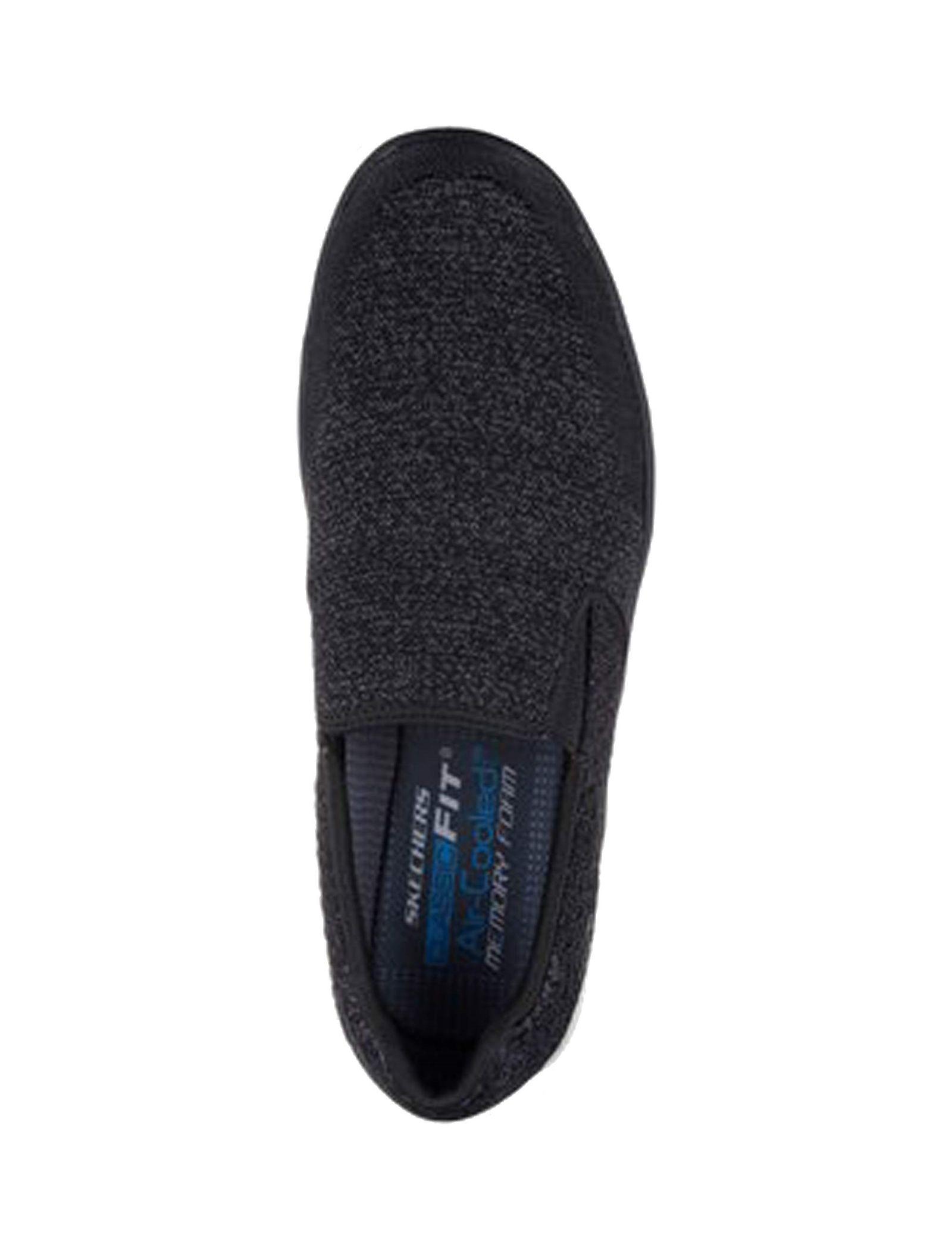 کفش راحتی پارچه ای مردانه Boyar Meber - اسکچرز - مشکي - 2