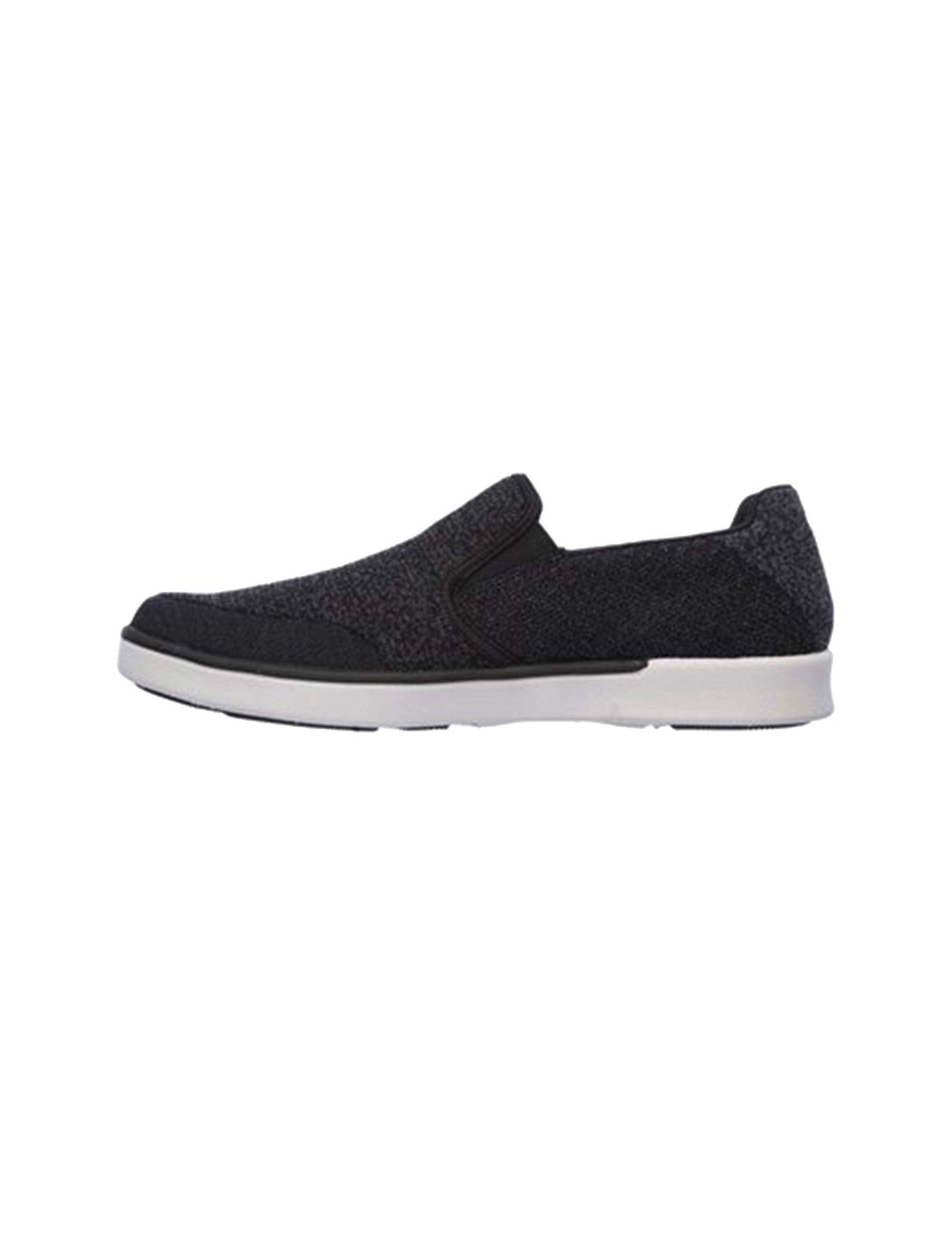 کفش راحتی پارچه ای مردانه Boyar Meber - اسکچرز - مشکي - 5