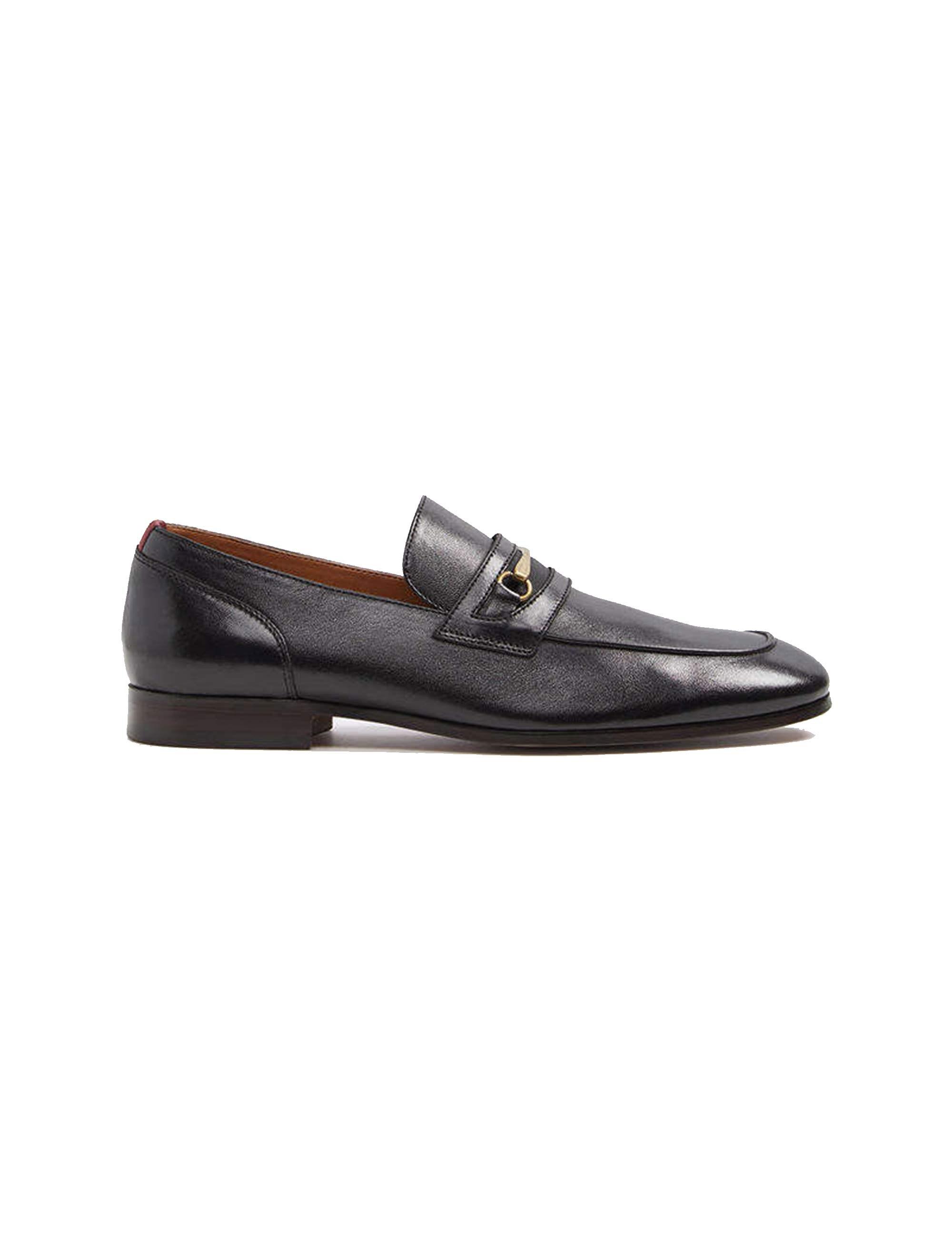 کفش اداری چرم مردانه - آلدو - مشکي - 1