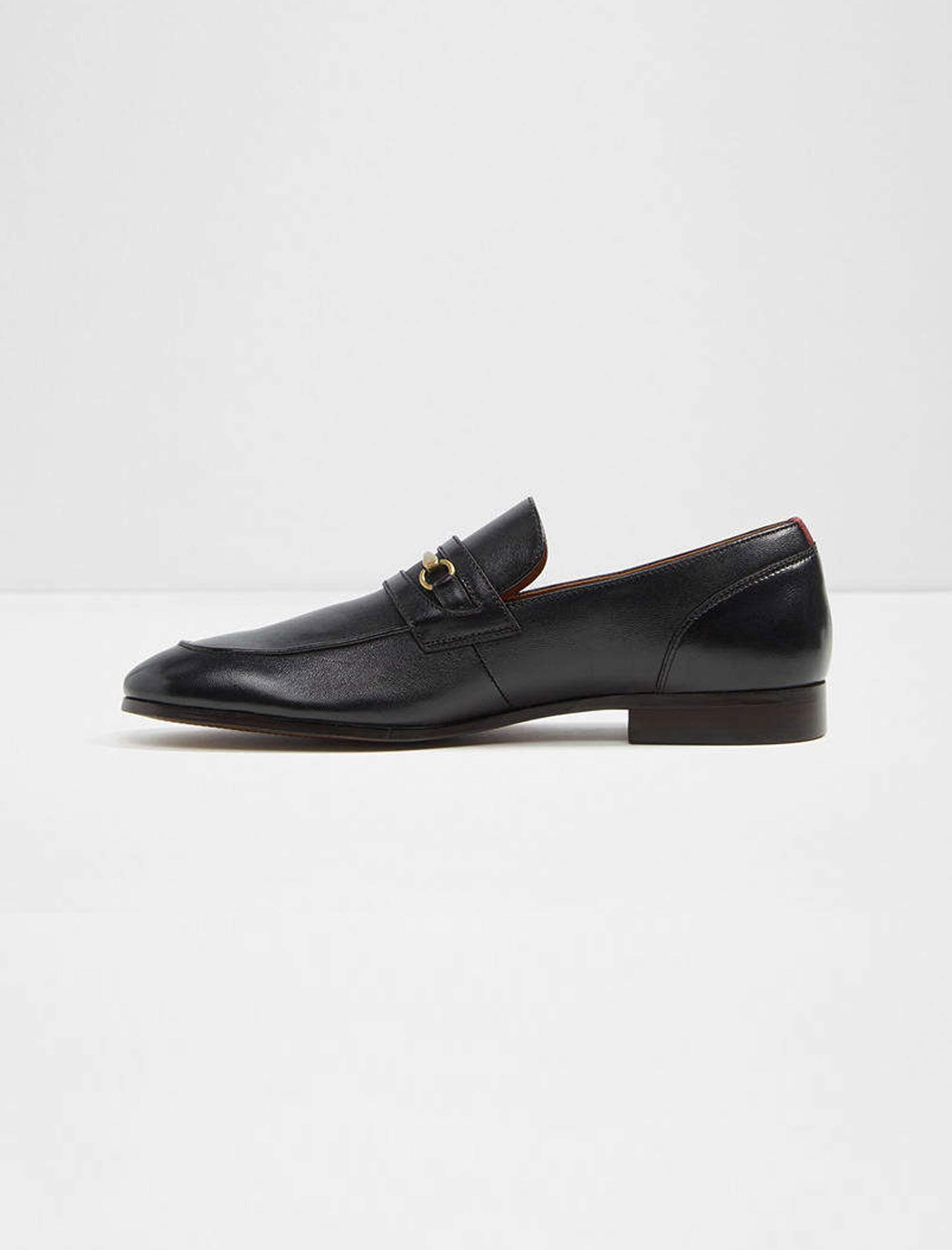 کفش اداری چرم مردانه - آلدو - مشکي - 2
