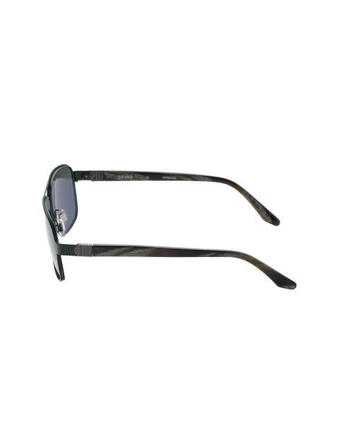 عینک آفتابی خلبانی مردانه - سبز تيره - 3