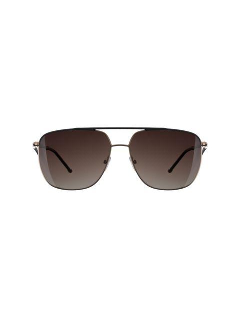 عینک آفتابی خلبانی زنانه - تد بیکر - مشکي و مسي - 1