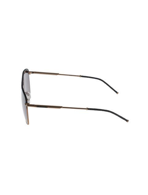 عینک آفتابی خلبانی زنانه - تد بیکر - مشکي و مسي - 3