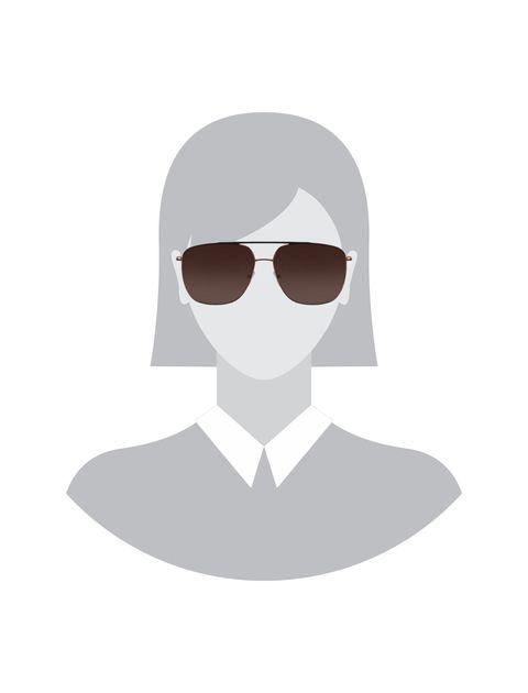 عینک آفتابی خلبانی زنانه - تد بیکر - مشکي و مسي - 5