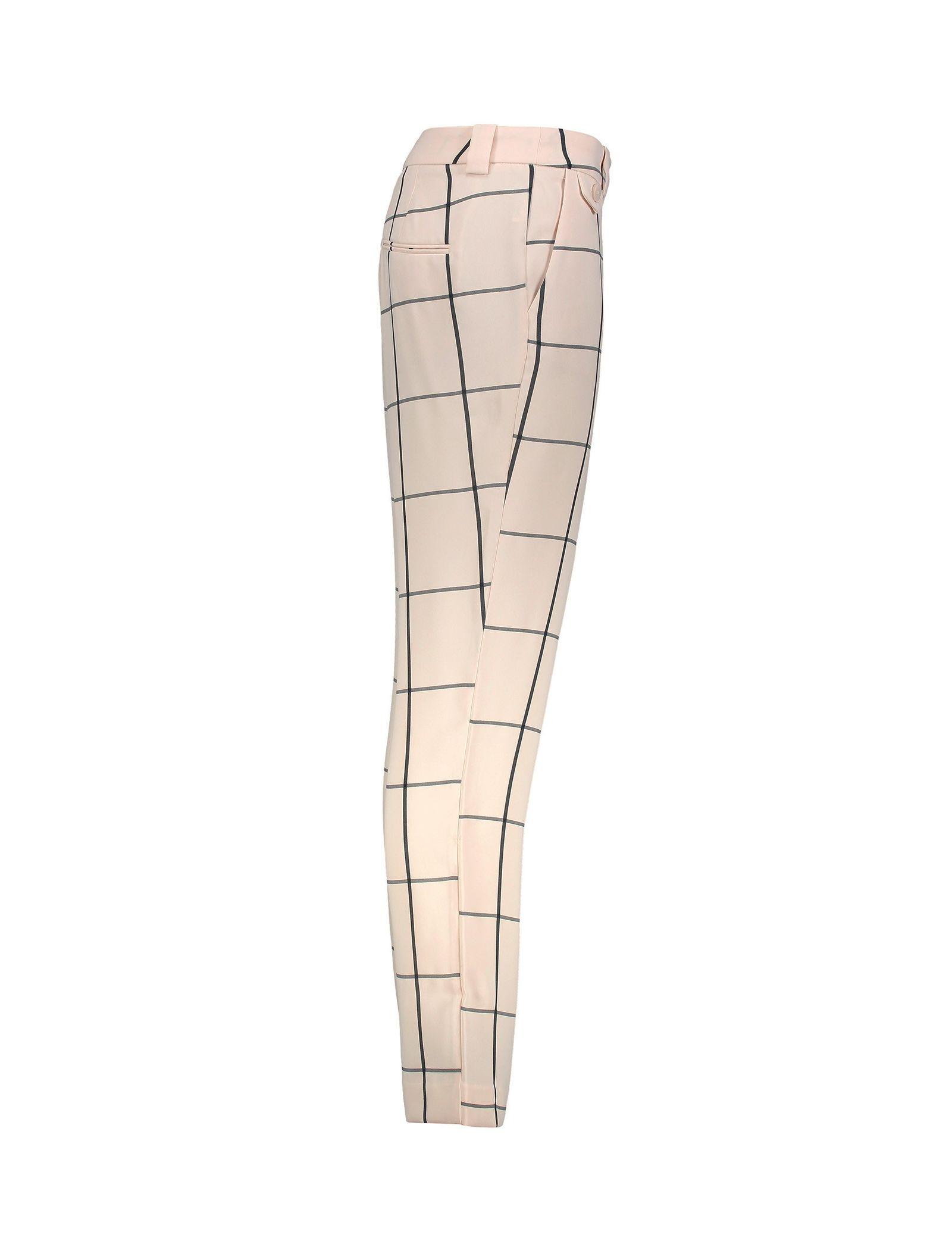 شلوار راسته زنانه - مانگو - نباتي - 4