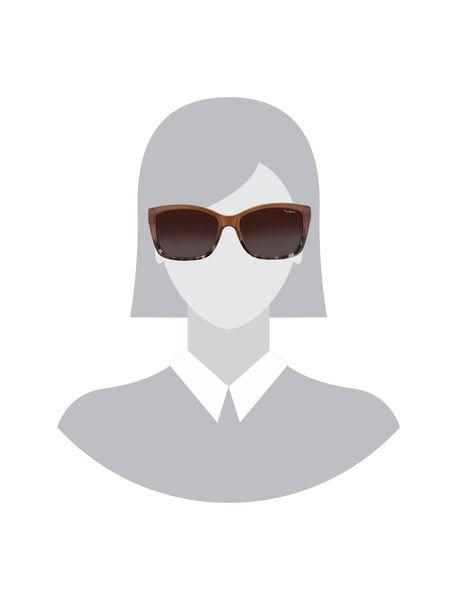 عینک آفتابی ویفرر زنانه - قهوه اي روشن - 5