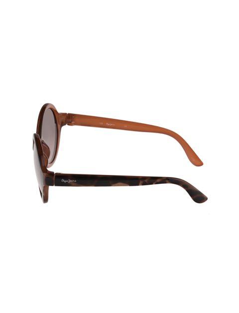 عینک آفتابی گرد دخترانه - قهوه اي  - 3
