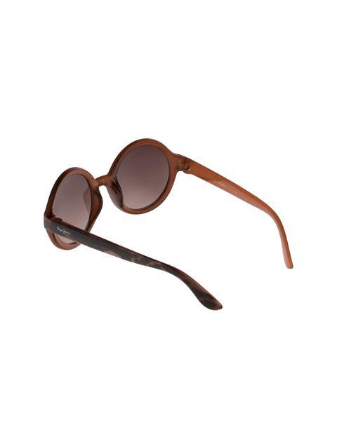 عینک آفتابی گرد دخترانه - قهوه اي  - 4