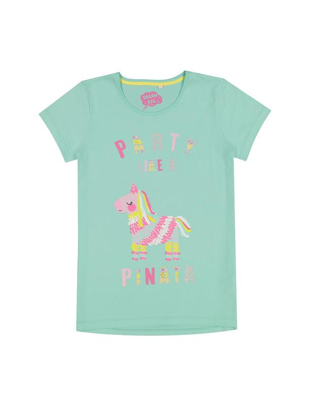 تی شرت و شلوارک راحتی نخی دخترانه