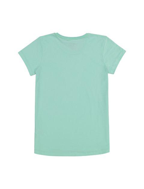 تی شرت و شلوارک راحتی نخی دخترانه - بلوزو - سبز آبي و طوسي - 3