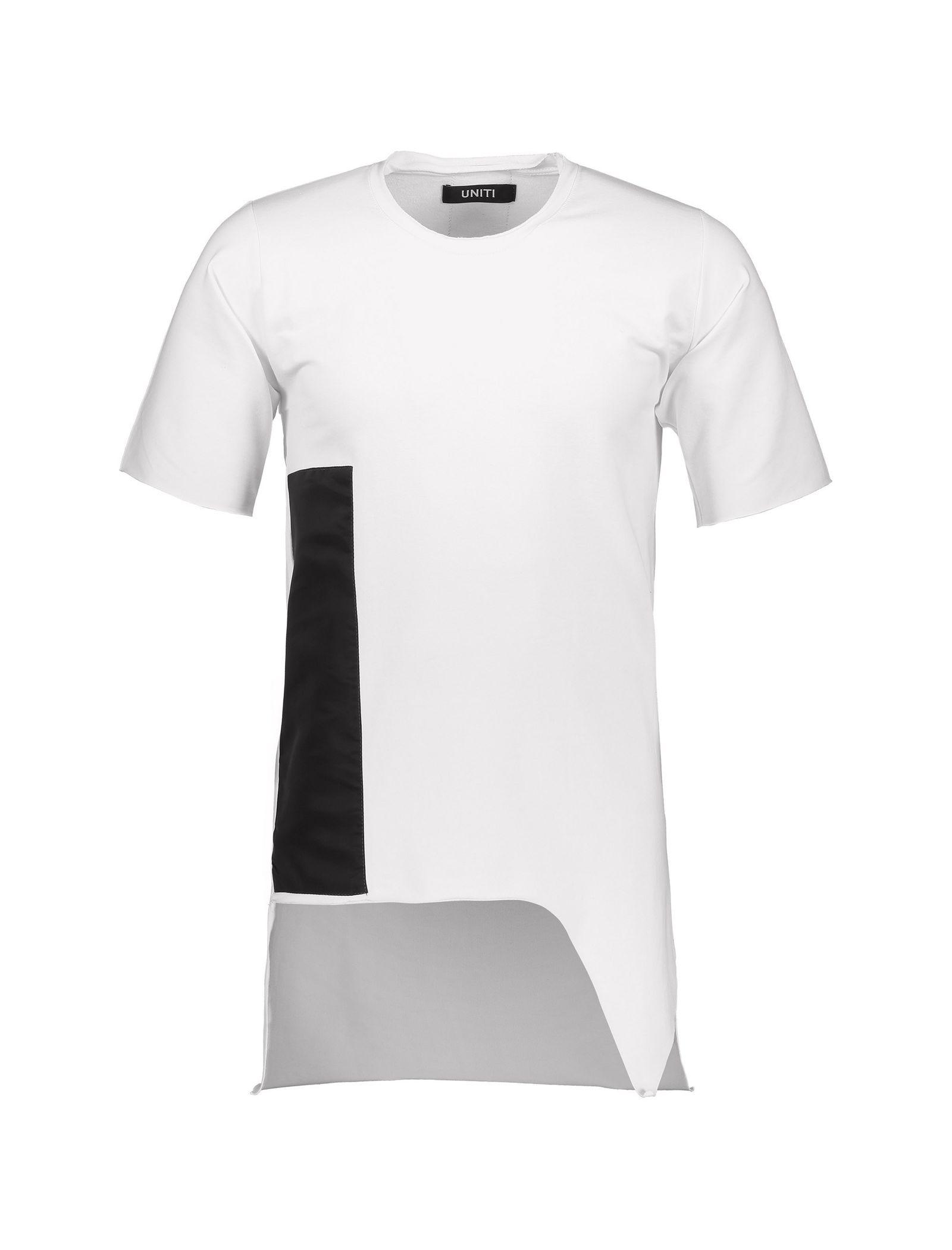 تی شرت ویسکوز یقه گرد مردانه Memory - یونیتی - سفيد - 1