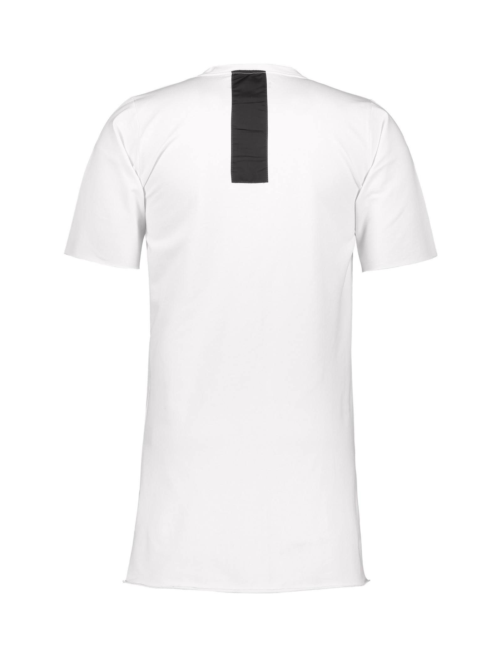 تی شرت ویسکوز یقه گرد مردانه Memory - یونیتی - سفيد - 2