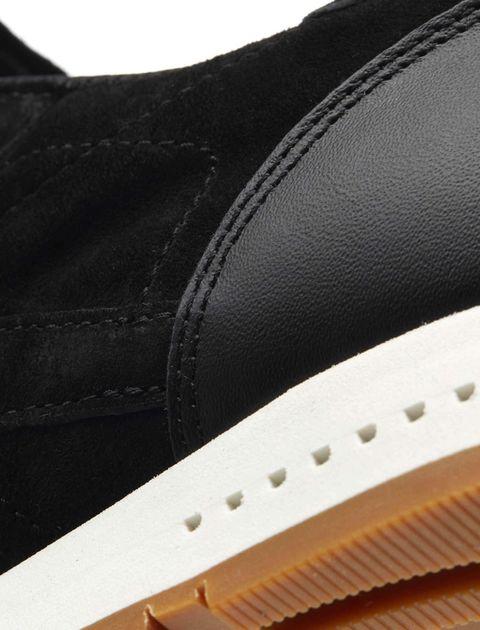 کتانی نبوک بندی مردانه Classic Leather SG - مشکي - 7