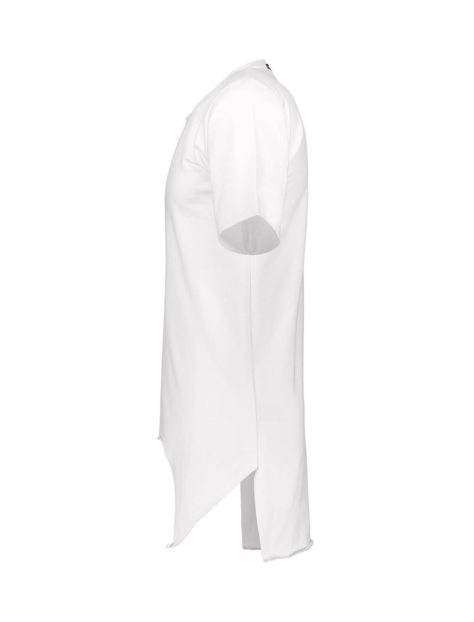 تی شرت ویسکوز یقه گرد مردانه Memory - یونیتی - سفيد - 3