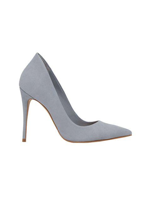 کفش پاشنه بلند نبوک زنانه - آبي  - 1