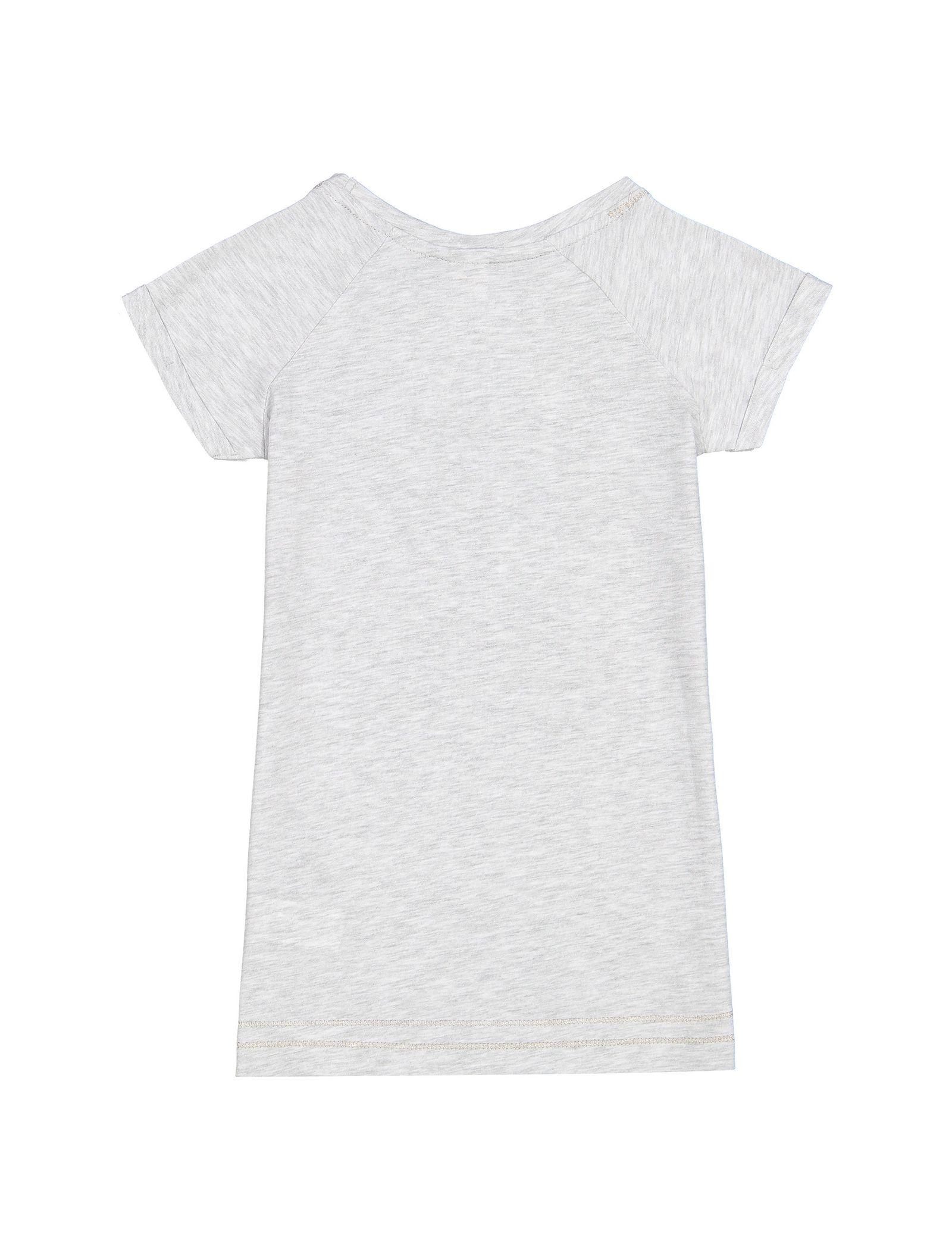 لباس خواب نخی میدی دخترانه - ال سی وایکیکی - طوسي - 2