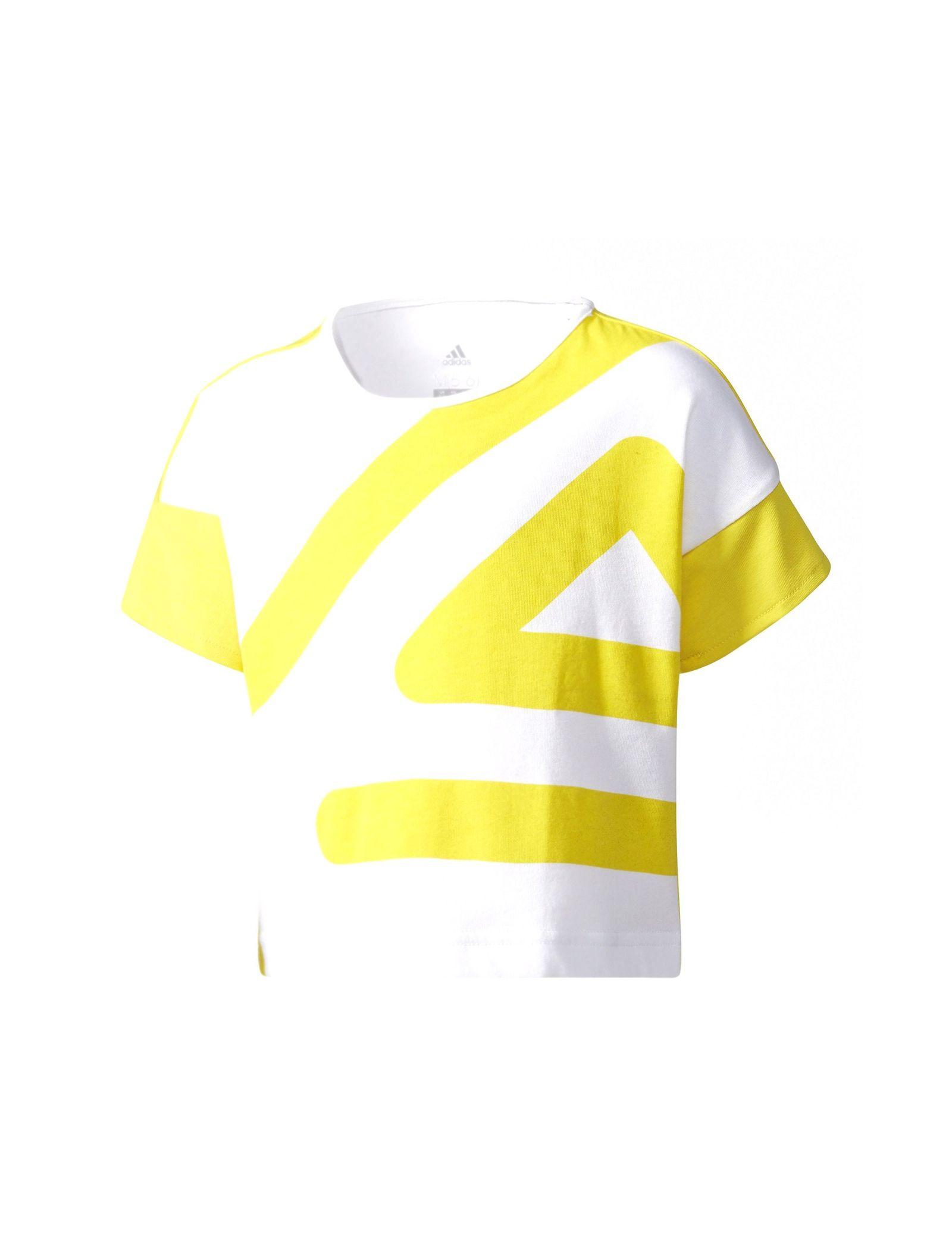 تی شرت ورزشی نخی دخترانه - آدیداس - سفيد - 1