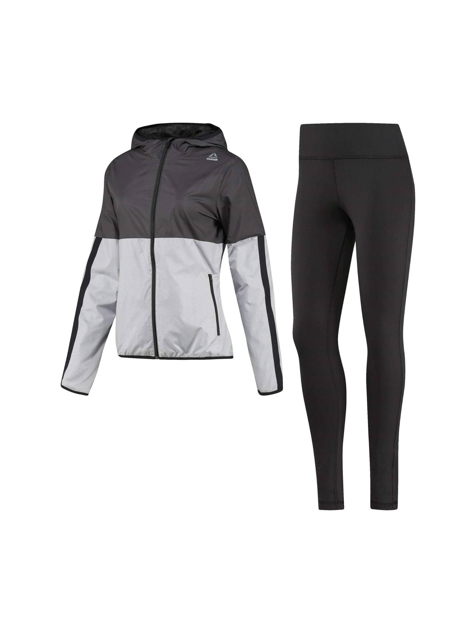 ست گرمکن ورزشی زنانه EL TS SPORT - ریباک - مشکي - 1