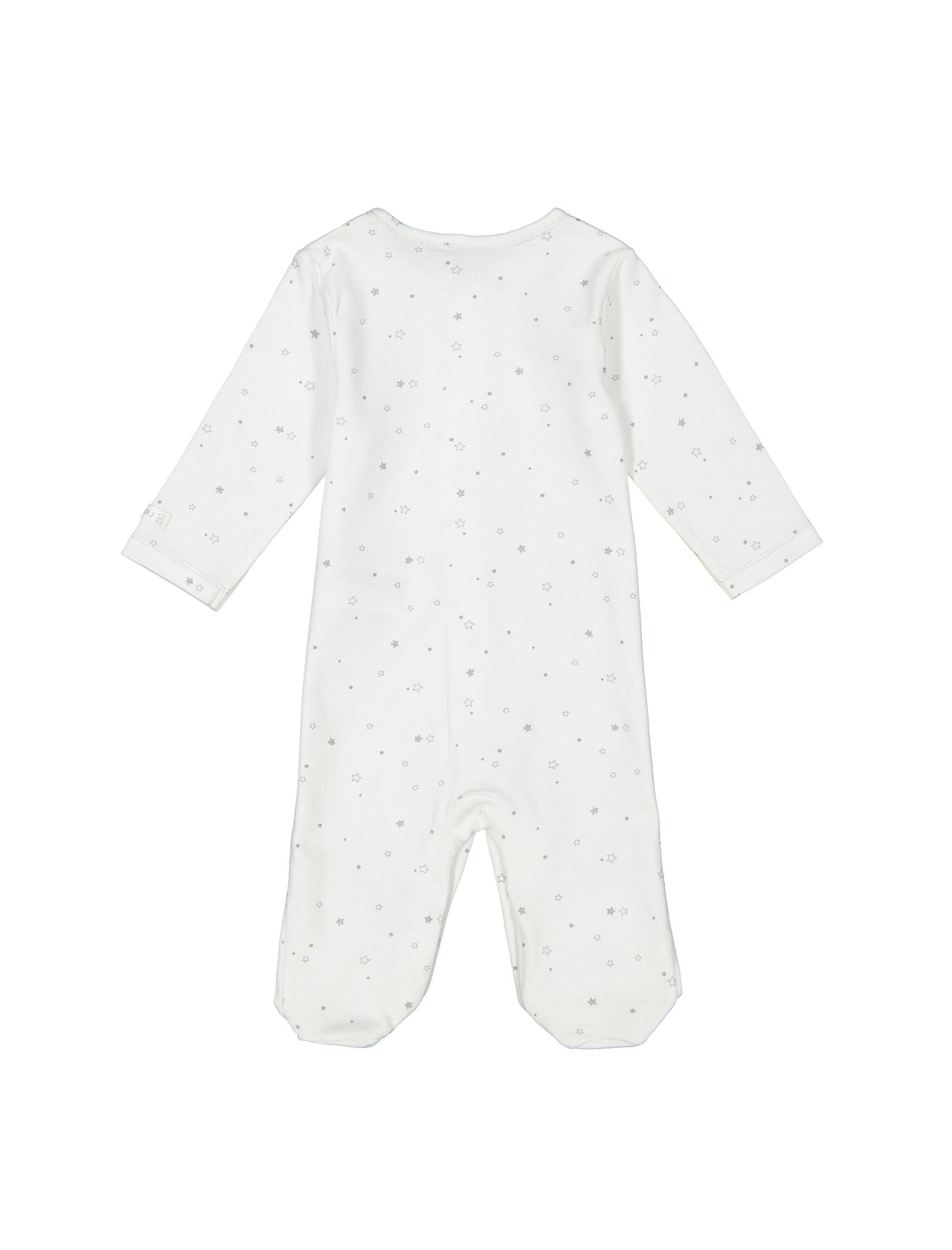ست 6 تکه نخی نوزادی - سفيد - 3