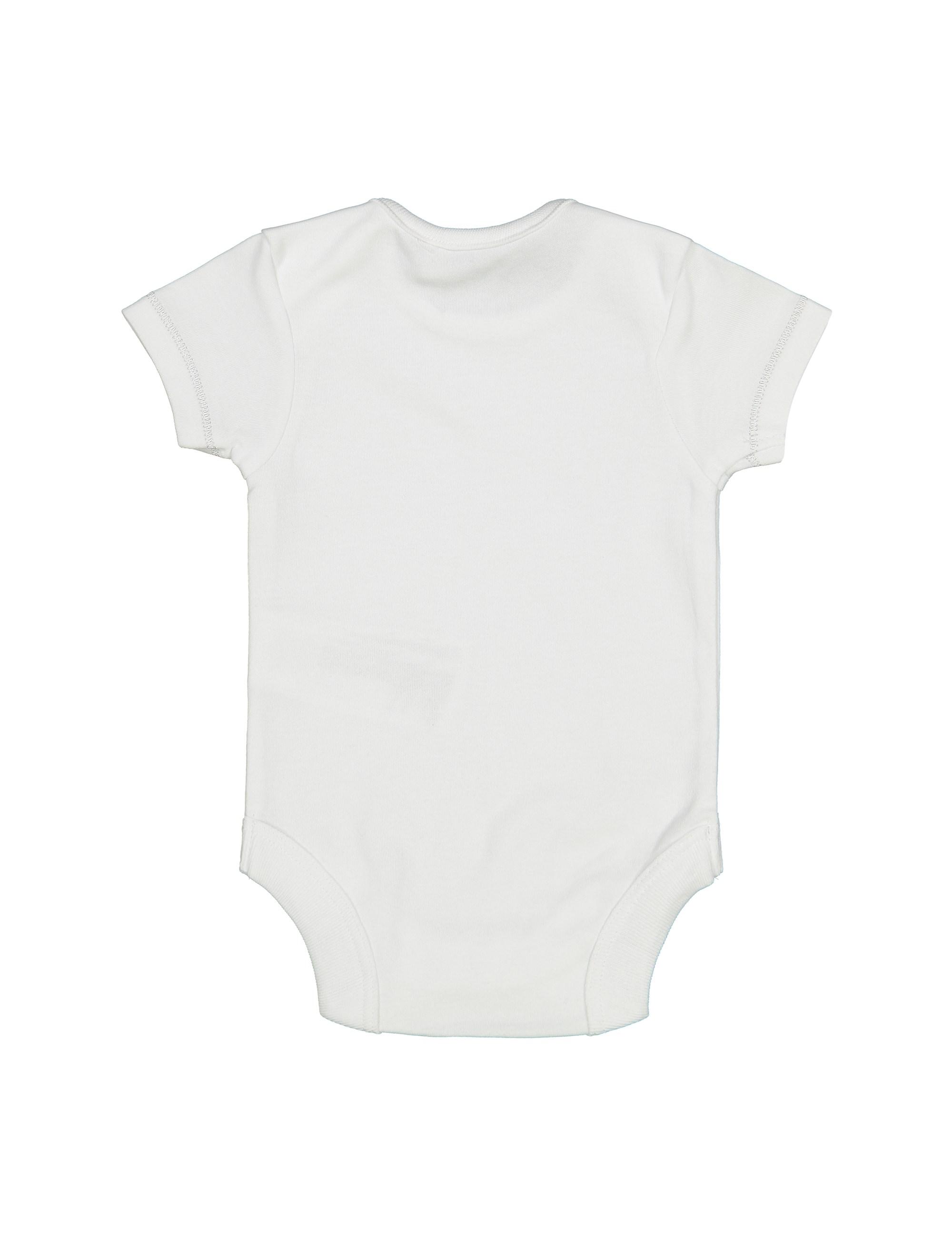 ست 6 تکه نخی نوزادی - سفيد - 7