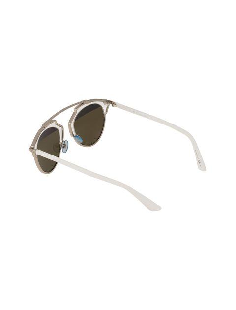 عینک آفتابی پنتوس زنانه - دیور - نقره اي و سفيد - 4