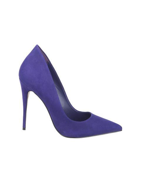 کفش پاشنه بلند چرم زنانه - آلدو - بنفش - 1