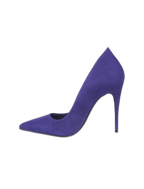 کفش پاشنه بلند چرم زنانه - آلدو - بنفش - 3