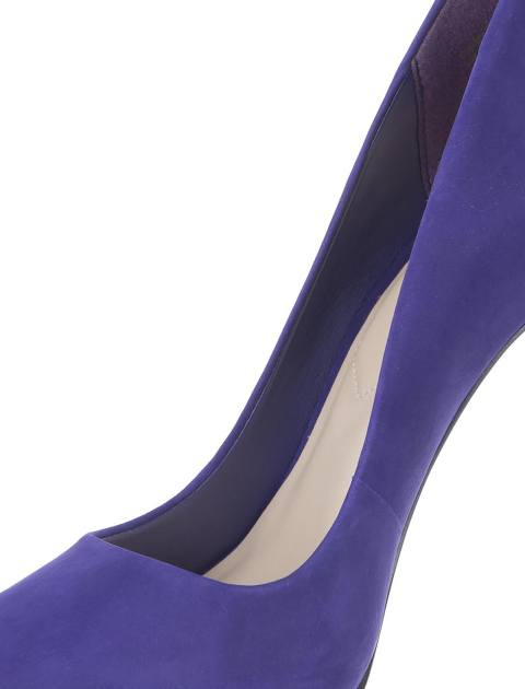 کفش پاشنه بلند چرم زنانه - آلدو - بنفش - 6
