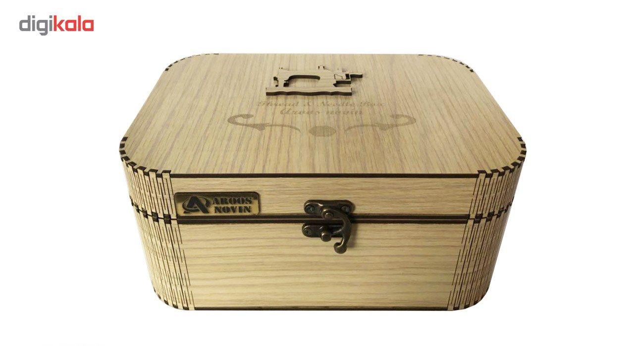 جعبه لوازم خیاطی عروس نوین مدل 03 main 1 4
