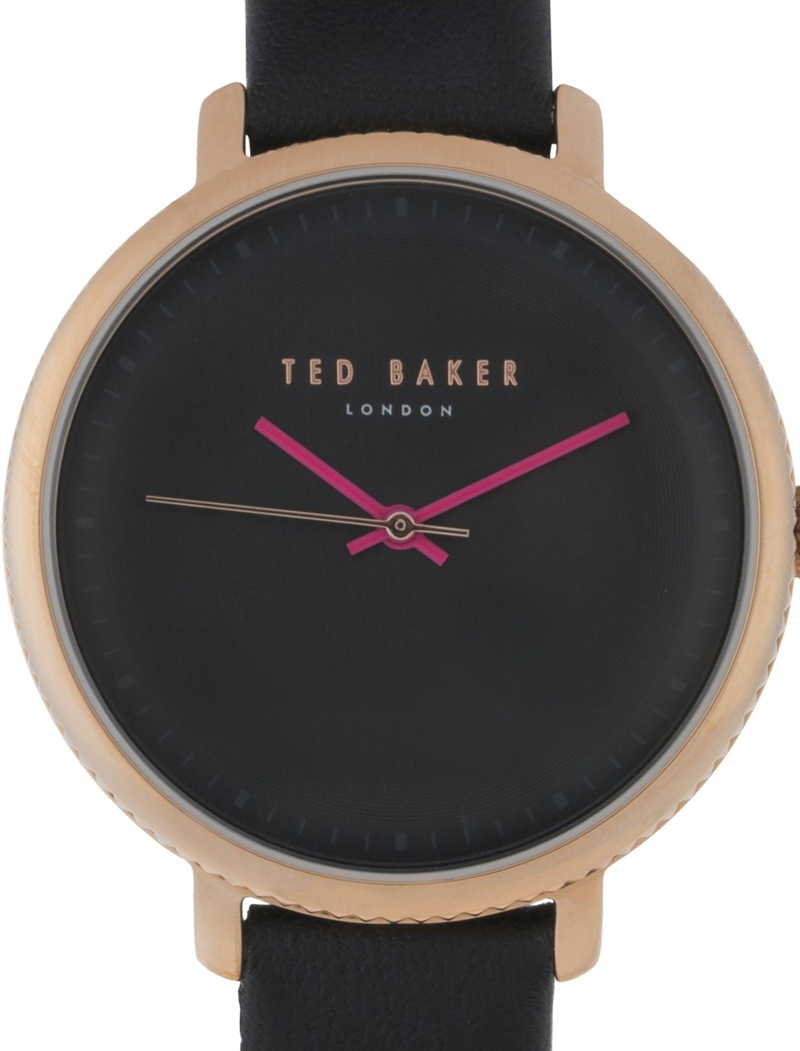 ساعت مچی عقربه ای زنانه - تد بیکر - مشکي      - 2