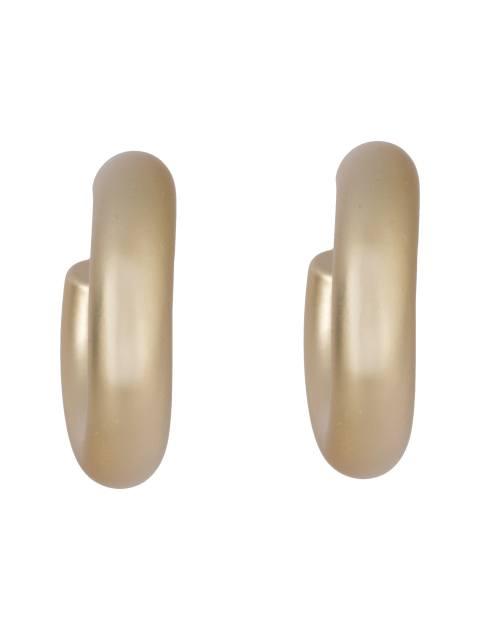 گوشواره حلقه ای زنانه - پی سز - طلايي - 1