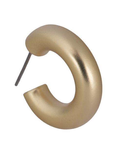 گوشواره حلقه ای زنانه - پی سز - طلايي - 2