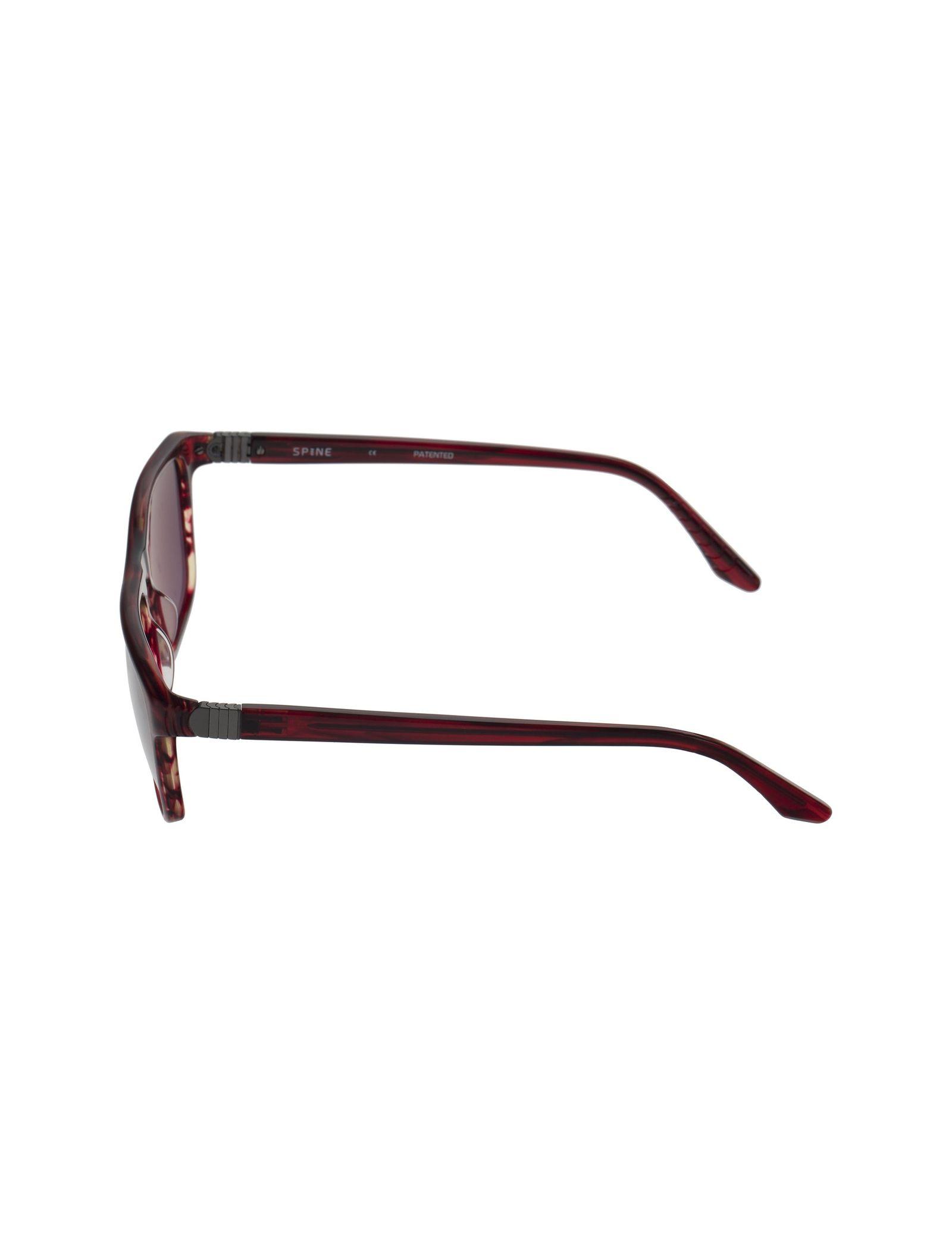 عینک آفتابی ویفرر مردانه - اسپاین - زرشکي  - 3
