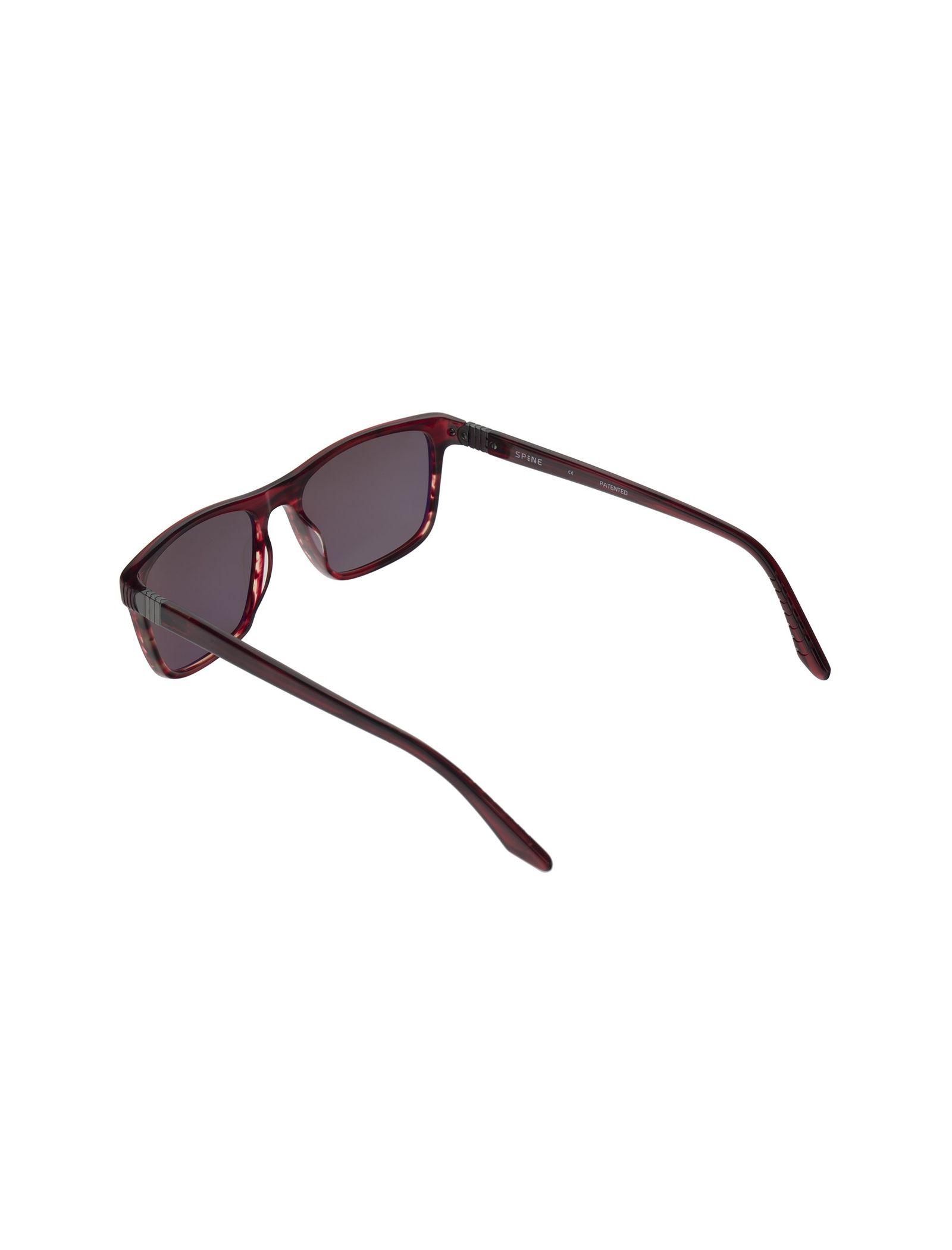 عینک آفتابی ویفرر مردانه - اسپاین - زرشکي  - 4
