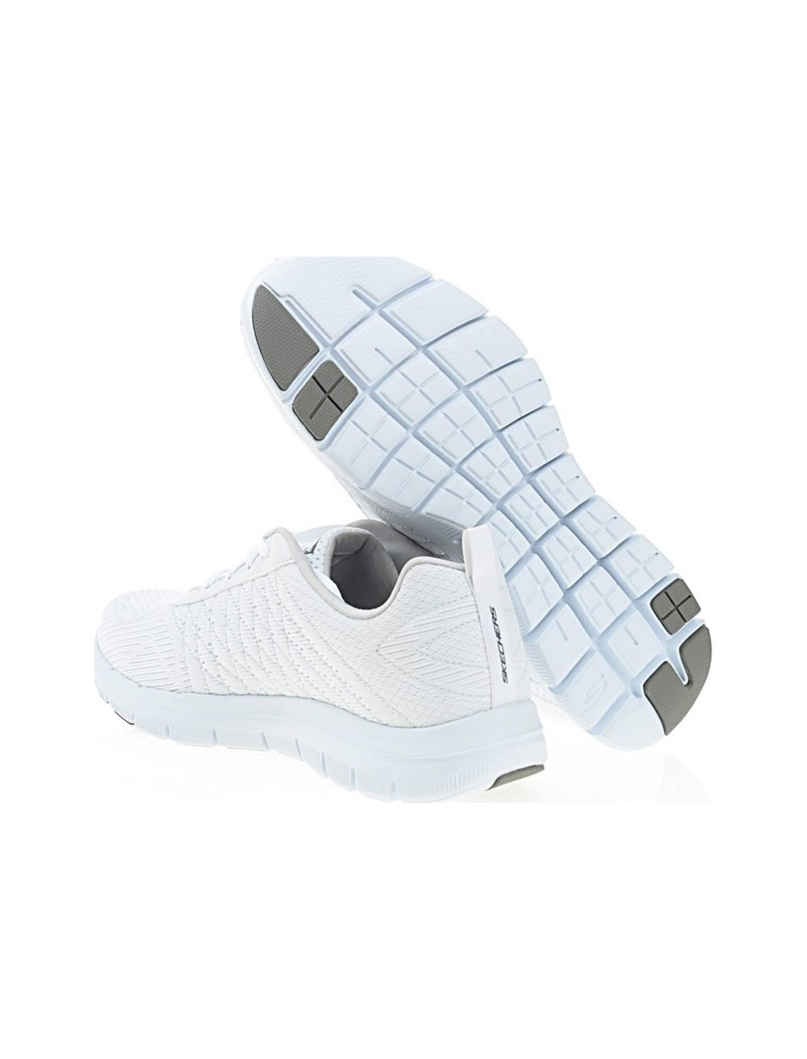 کفش تمرین بندی مردانه Flex Advantage 2-0 The Happs - اسکچرز - سفيد - 4
