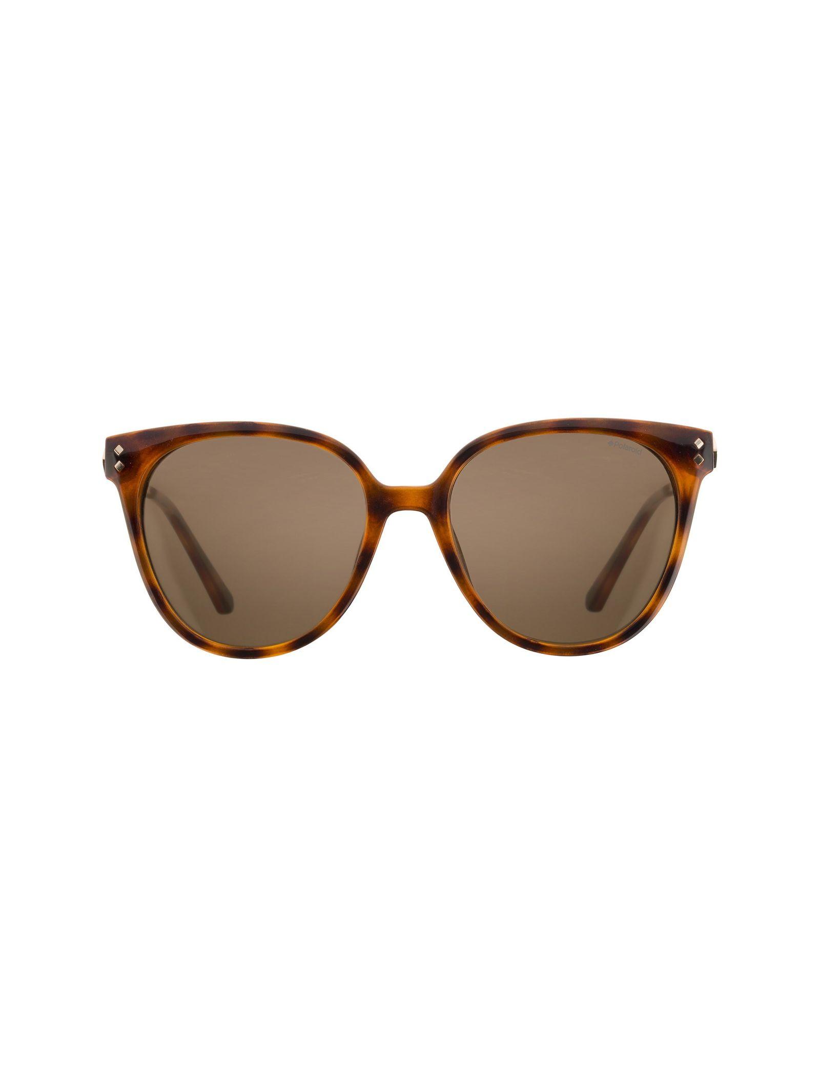 عینک آفتابی گربه ای زنانه - پولاروید - قهوه اي لاک پشتي - 1