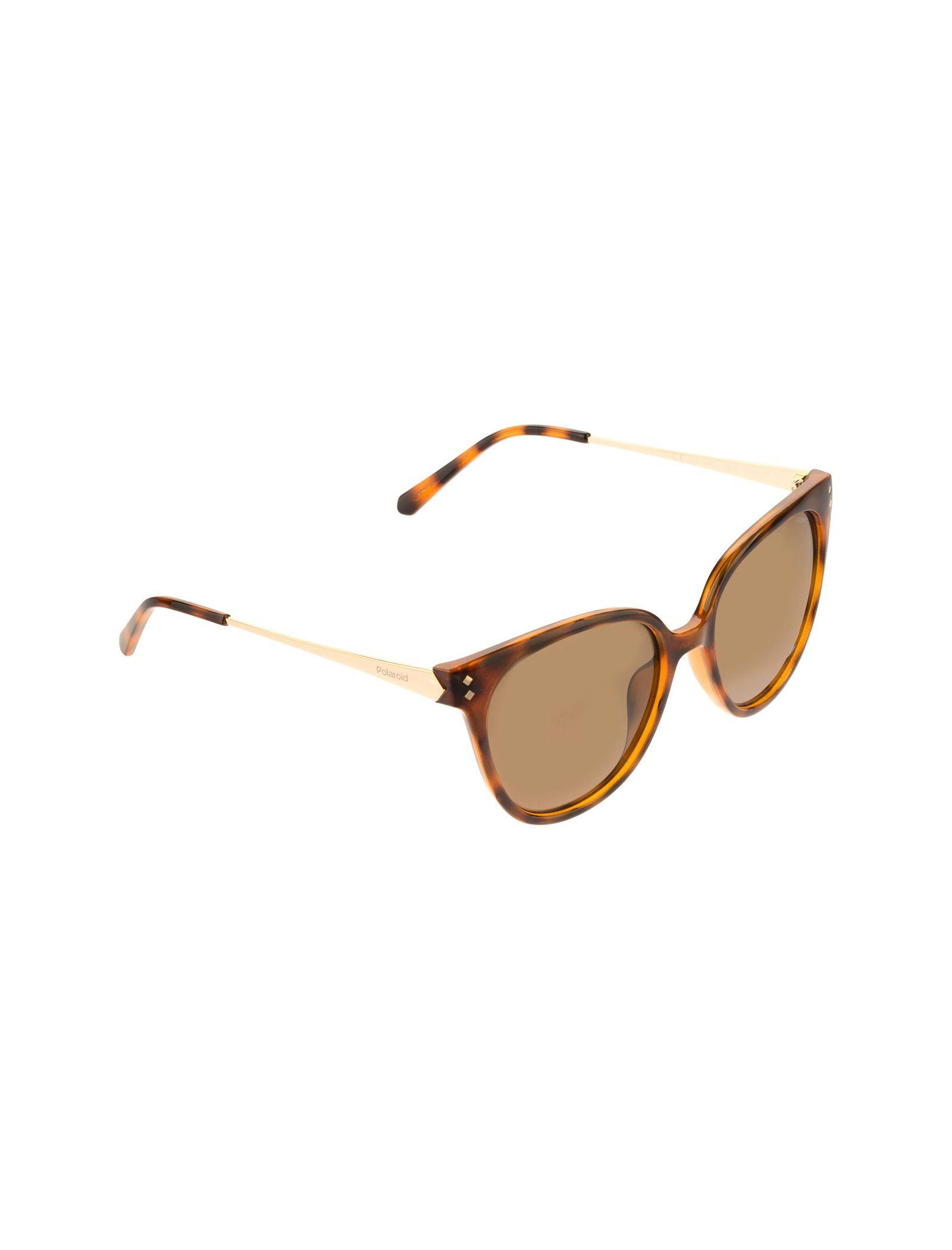 عینک آفتابی گربه ای زنانه - پولاروید - قهوه اي لاک پشتي - 2