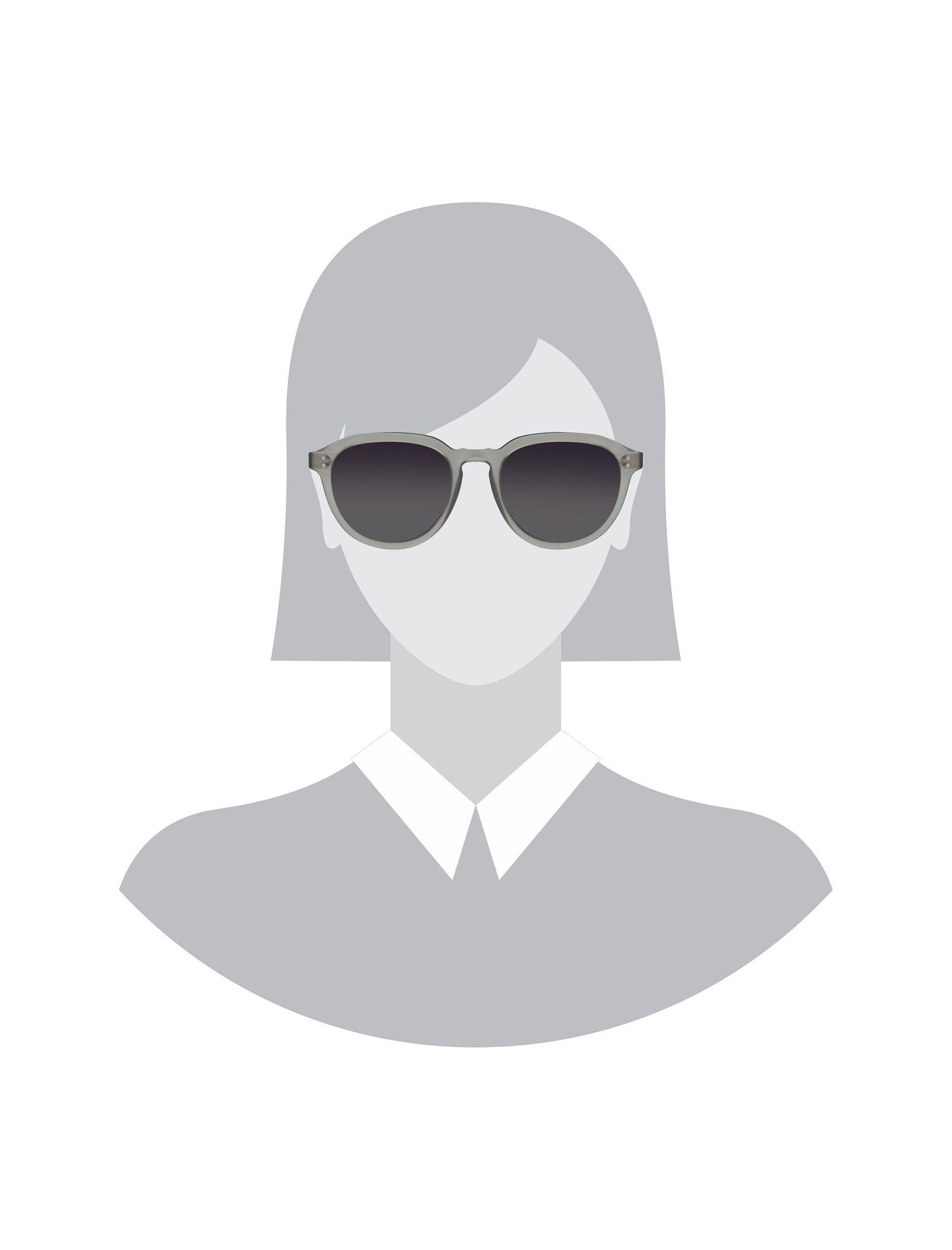 عینک آفتابی پنتوس زنانه - هکت - طوسي   - 4