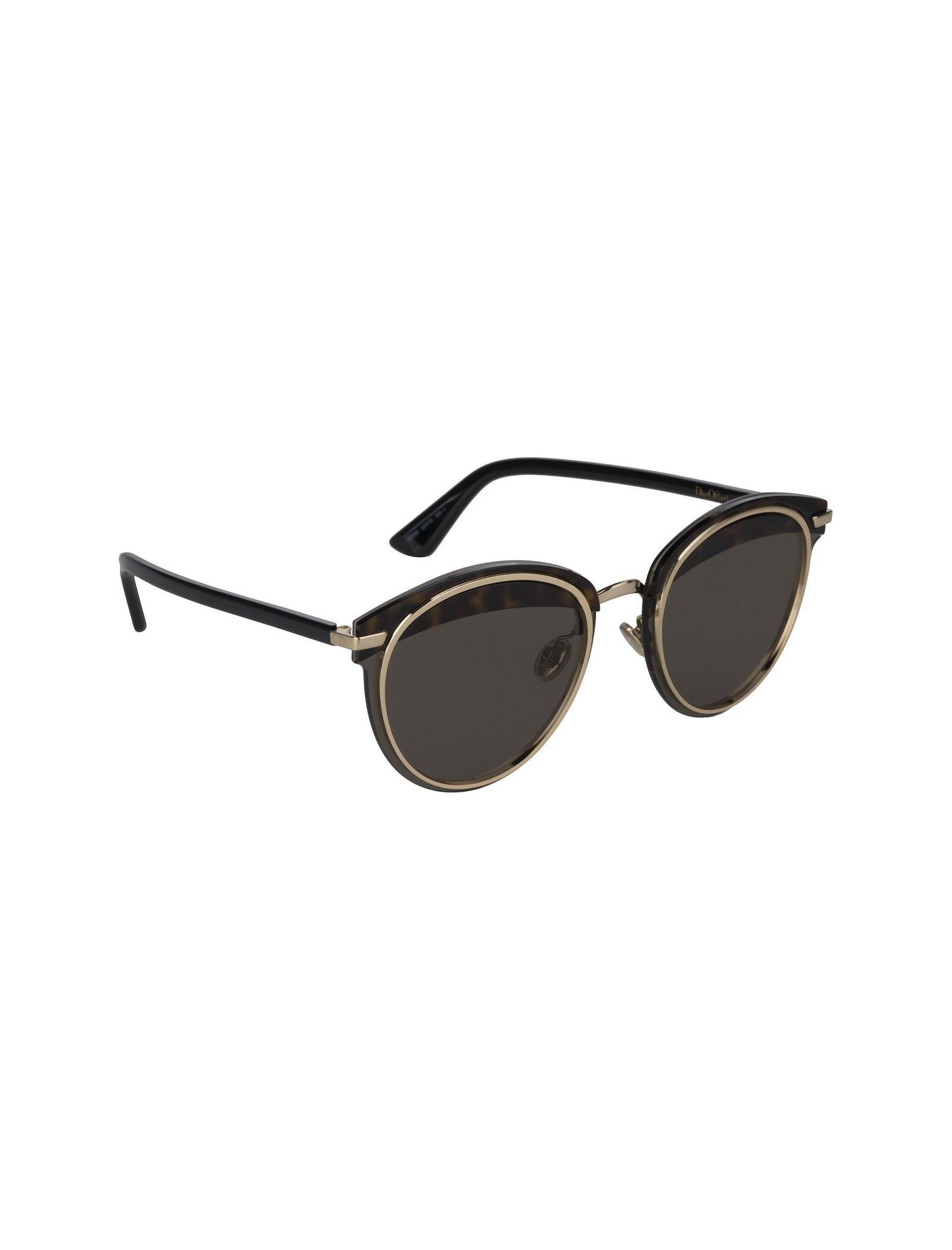 عینک آفتابی پنتوس زنانه - دیور - مشکي لاک پشتي - 2