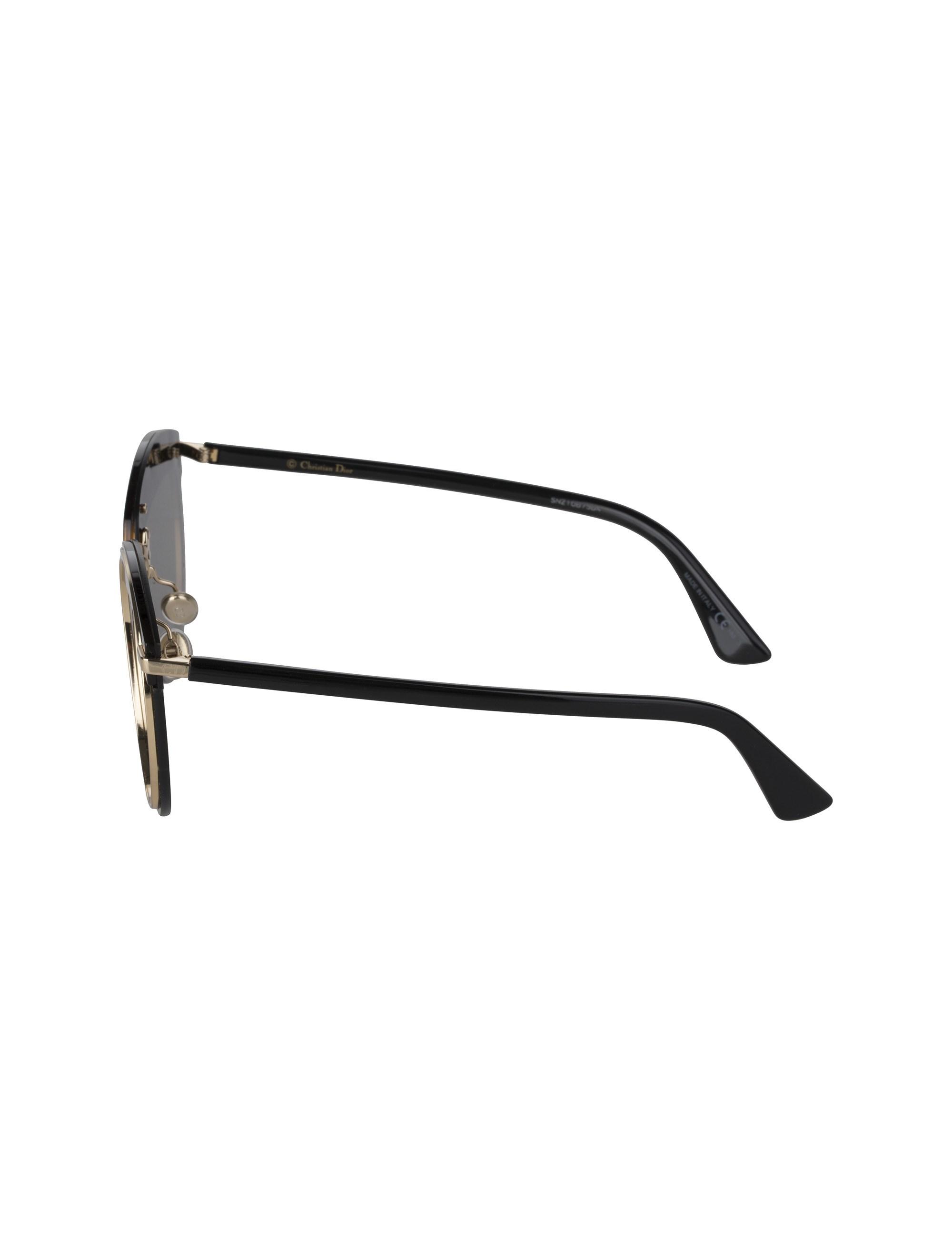 عینک آفتابی پنتوس زنانه - دیور - مشکي لاک پشتي - 3