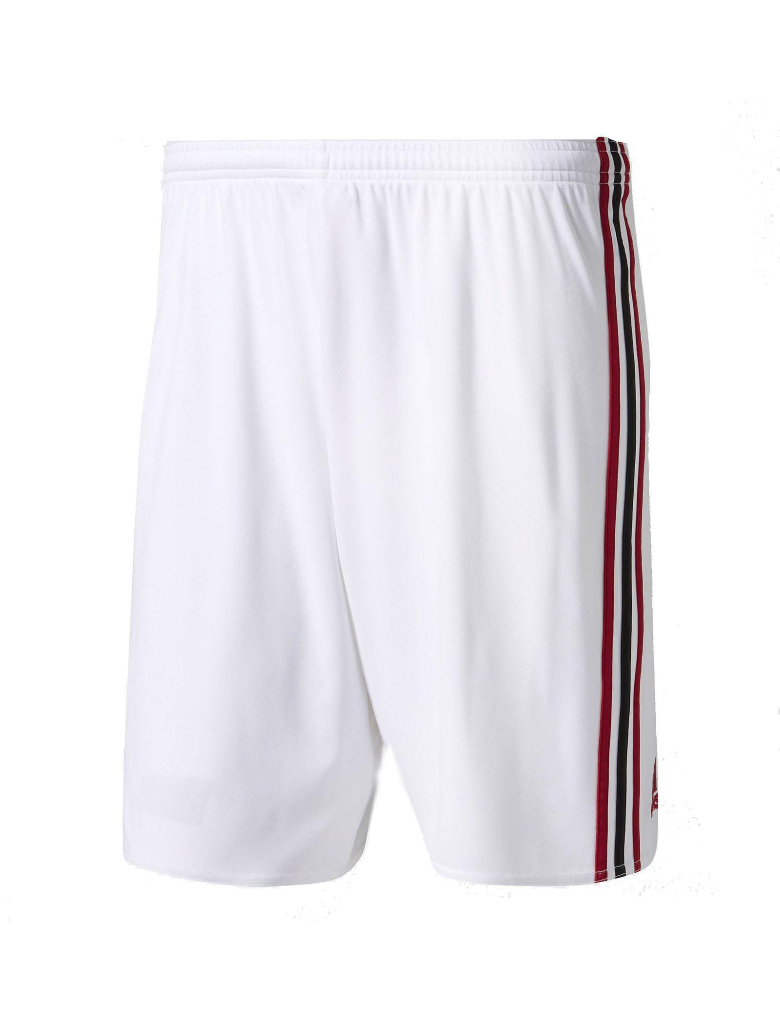 شلوارک فوتبال تیم  AC Milan Replica - آدیداس - سفيد   - 1