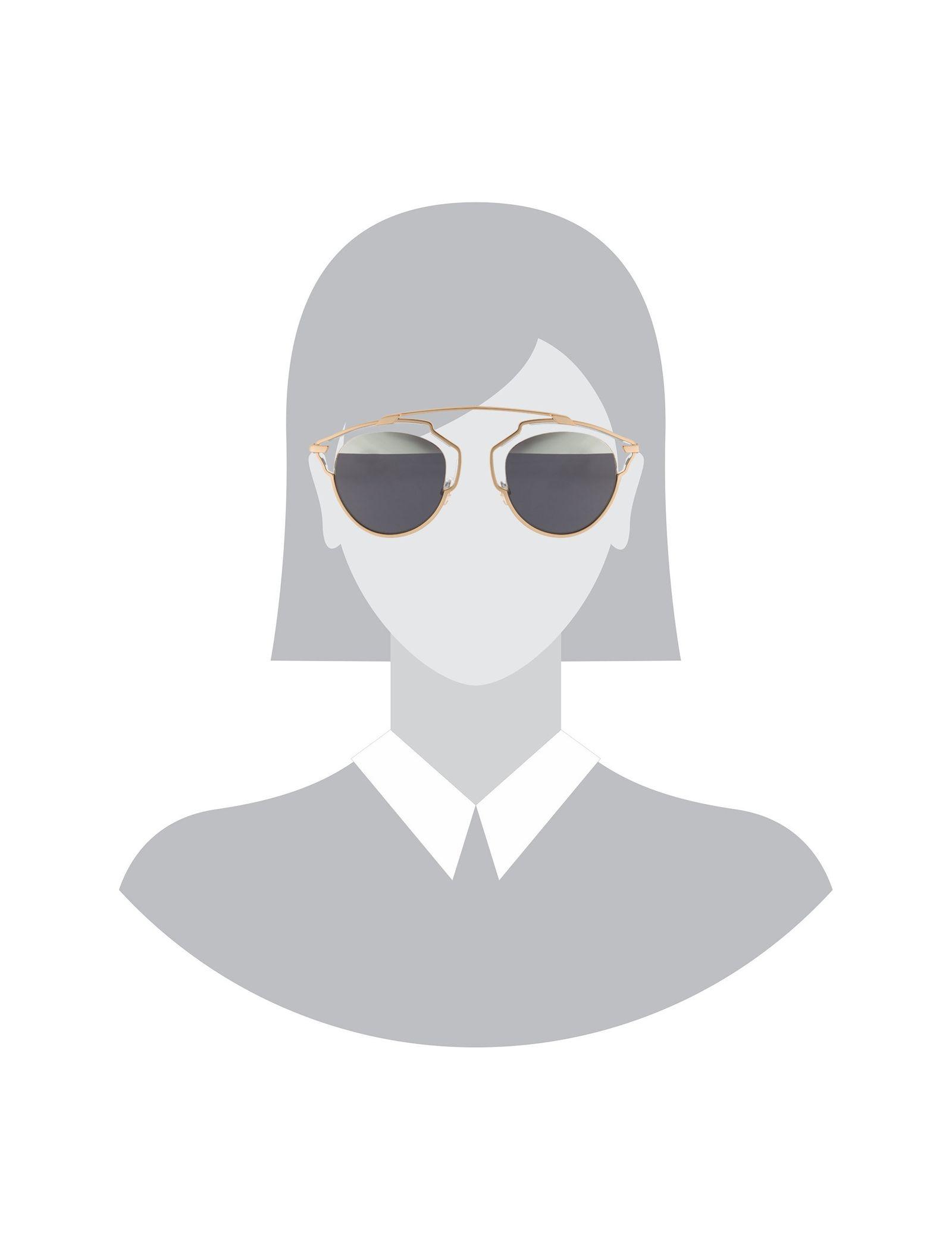 عینک آفتابی پنتوس زنانه - دیور - طلايي  - 6
