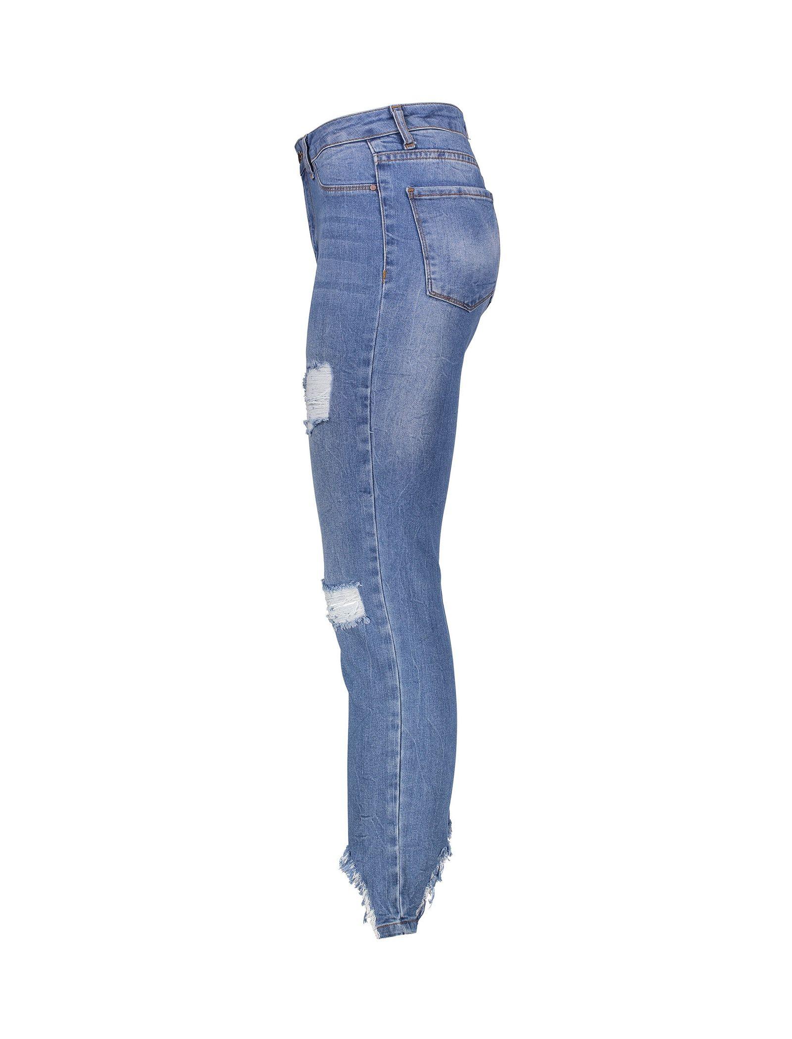 شلوار زنانه کوتون مدل 7YAK47266MD - آبی - 3