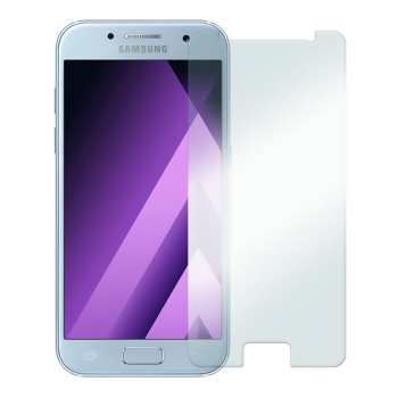 محافظ صفحه نمایش شیشه ای مدل Tempered مناسب برای گوشی موبایل سامسونگ Galaxy A3 2017