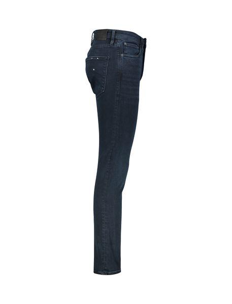 شلوار جین جذب مردانه - آبي تيره - 3