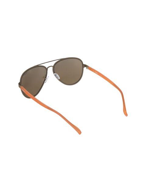 عینک آفتابی خلبانی زنانه - قهوه اي روشن - 4