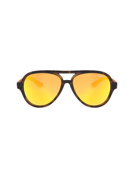 عینک آفتابی خلبانی بچگانه - قهوه اي و نارنجي - 1