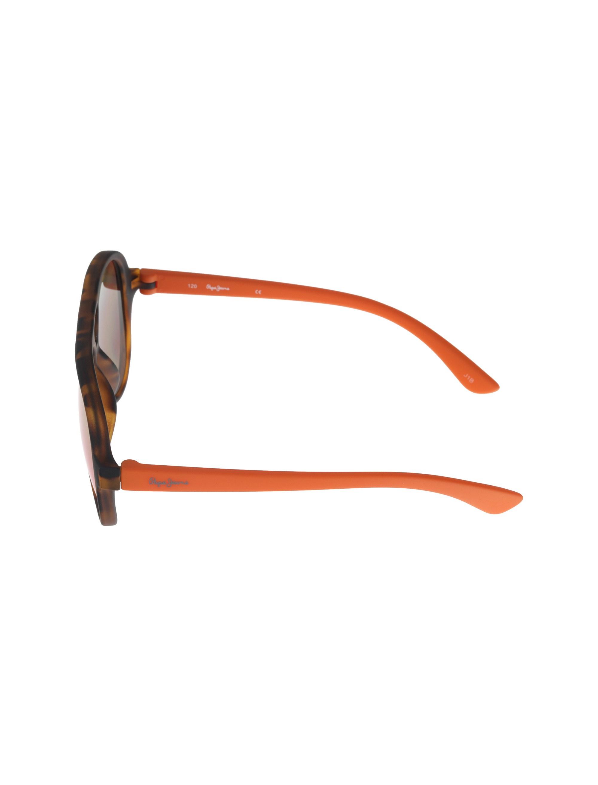 عینک آفتابی خلبانی بچگانه - قهوه اي و نارنجي - 3