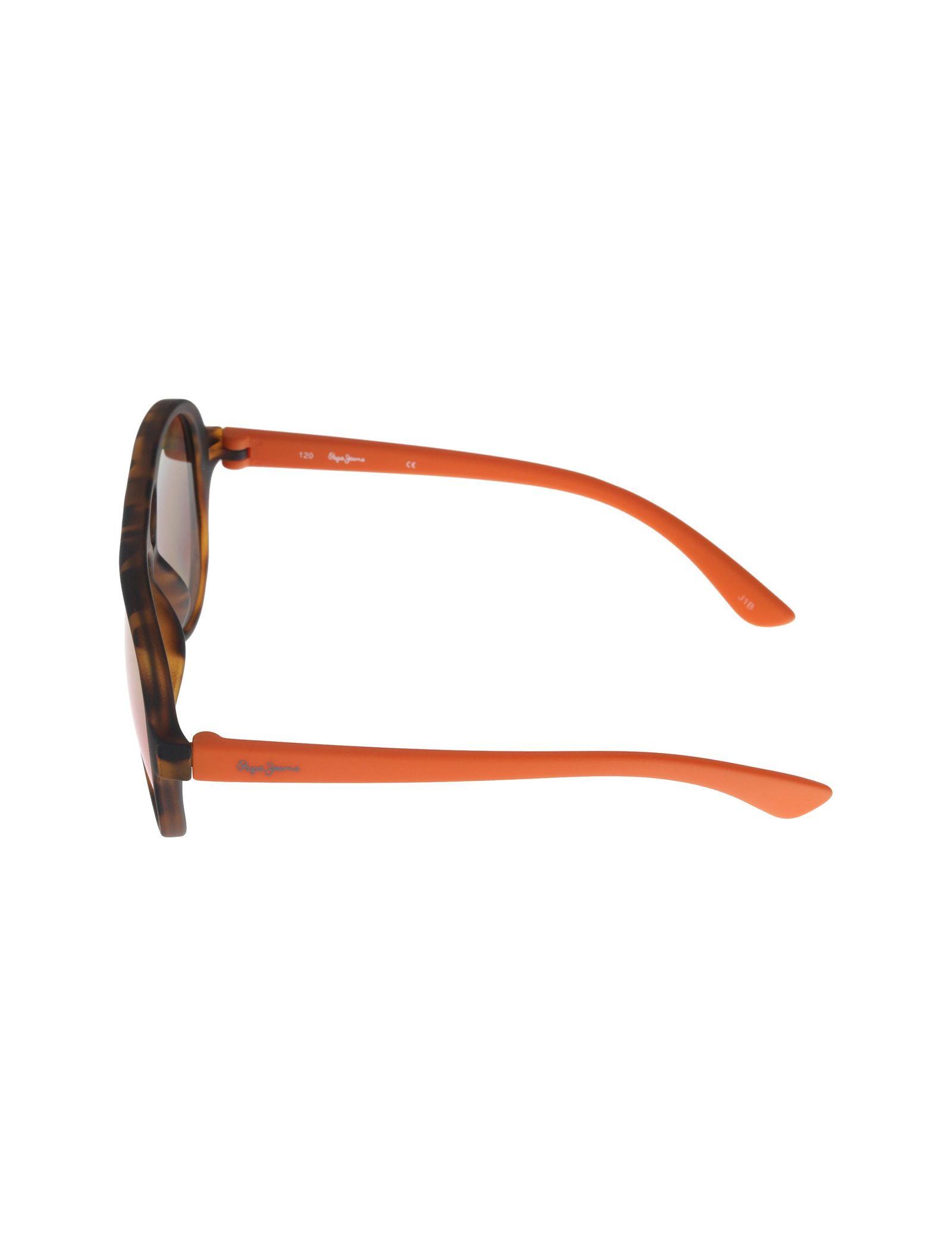 عینک آفتابی خلبانی بچگانه - پپه جینز - قهوه اي و نارنجي - 3